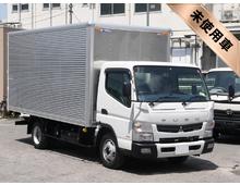 [未使用車]H28 TKG-キャンター パブコ製アルミバン 左サイド扉 <br>ワイド幅 4500ロング 内高206㎝ 3t積載 5MT 車検30/4迄