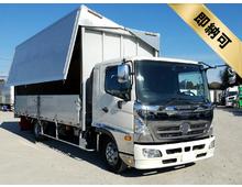 H23 SKG-レンジャー トランテックス製アルミウイング エアサス <br>6200ワイド 2.8t積載 キャブメッキパーツ 6MT 車検29/11迄