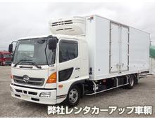 [未使用]H29 TKG-レンジャー トランテックス冷凍バン 菱重低温 <br>格納PG キーストン ジョロダー 左観音扉 エアサス 6MT 車検付