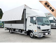 [未使用]H29 TKG-ファイター トレクス製アルミウイング 車検付 <br>S-パッケージ エアサス 2.85t積載 220馬力 アルミホイール 6MT