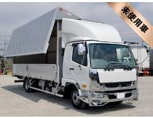[未使用車] TKG-ファイター スーパーパッケージ トレクス製アルミウイング 6200ワイド 内高241㎝ 2.85t積載 リアエアサス キャブメッキパーツ 6MT 車検31/7まで