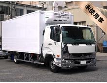[未使用]H29 TKG-ファイター 東プレ製冷凍バン 低温 エアサス <br>格納PG 6200ワイド 左観音扉 アルミホイール 6MT 車検31/7迄