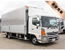 [予約販売] 2月登録可能 H29 TPG-レンジャー トランテックス製アルミウイング 格納PG 6200ワイド 240馬力 リアエアサス 2.3t積載 6MT