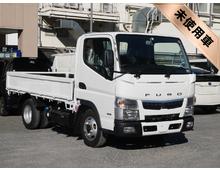[未使用]H29 TPG-キャンター パブコ製平ボデー 標準ショート 5MT 車検31/10迄 準中型免許対応