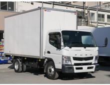 H24 SKG-キャンター パブコ製アルミバン ワイドロング 4t積載 走行17.9万㎞ 内高225㎝ 左サイド扉 5MT