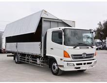 H17 ADG-レンジャー増㌧ トランテックス製アルミウイング 7200ワイド 6.7t積載 リアエアサス 走行36.2万㎞ 6MT
