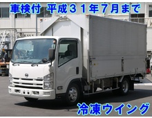 H21 BDG-アトラス 平ボデー ワイドロング 3方開 3.5t積載 リーフサス 走行17.3万㎞ スムーサー