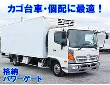TKG-レンジャー トランテックス製冷凍車 6200ワイド 格納PG サーモキング 低温仕様 システムフロア アルミホイール 低走行 キャブメッキパーツ 6MT