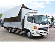 ADG-レンジャー フルハーフ製冷凍ウイング パワーゲート(※取り外しサービス) 6200ワイド リアエアサス 270馬力 ステンサイドバンパー