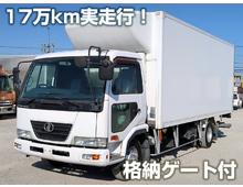 コンドル 冷凍バン 格納パワーゲート シャッター式 低走行16.8万㎞ 6MT