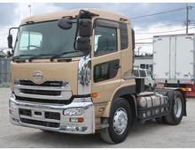 【高年式】 クオン トラクタヘッド 海コン一括緩和11.5t 走行20万㎞ 410馬力 インジェクター交換済み