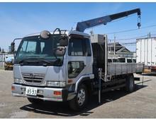 コンドル 増㌧ タダノ製3段クレーン ラジコン フックイン 5.4t積載 6MT 車検付き31/8迄 燃焼装置なし