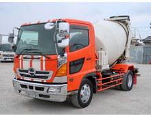 レンジャー 増㌧ 新明和製ミキサー 5.6立米 最大混合容量6720㎏ 走行23.9万㎞ 6MT