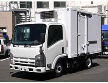 エルフ 東プレ冷凍 左サイド扉 標準ショート 走行24.4万㎞ 5MT 16.6万㎞時リビルトエンジン載替 5t未満限定免許対応