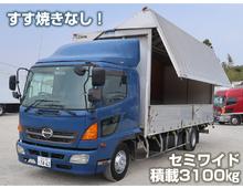 レンジャー 6200セミワイド 3.1t積載 リーフサス 6MT 車検付き6月迄 燃焼装置なし