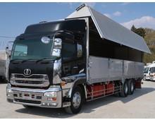 クオン 3軸高床 メーターアオリ 走行70万㎞ 13.1t積載 キャブメッキ多数 国産エンジン搭載