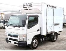 【高年式】 キャンター 東プレ低温 標準ショート 左サイド扉 走行6.3万㎞ 5MT 総重量5t未満限定免許対応