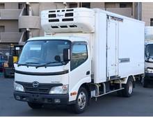 デュトロ 冷凍バン 標準ロング 低温 6MT 実走行15.6万㎞ 積載2t