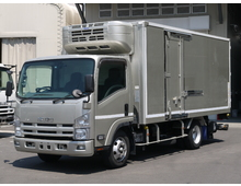 【高年式】 エルフ 東プレ低温 格納パワーゲート ワイドロング 左サイド扉 2.85t積載