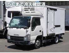 【高年式】 東プレ冷凍 標準ショート 左サイド扉 2t積載 5t未満限定免許対応