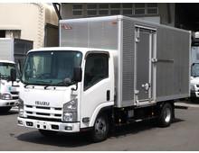 【高年式】 エルフ 標準ロング 内高207㎝ 左サイド扉 走行18.7万㎞ 3t積載