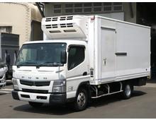 【高年式】 キャンター デンソー低温 ワイドロング 左サイド扉 2.8t積載