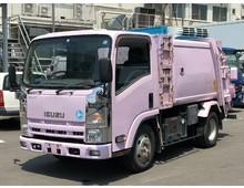 エルフ フジマイティー製巻き込み式パッカー 4.3立米 3t積載 走行9.1万㎞ ディーゼル燃料 6MT 車検付令和2年2月迄