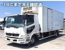 【高年式】 ファイター 東プレ製低温 格納パワーゲート 6200ワイド 左サイド扉 2.4t積載 6MT