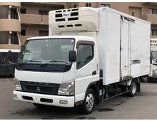 キャンター 冷凍バン 左サイド扉 ツーエバ低温 ワイドロング 5MT 積載2t