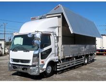 ファイター増㌧ 7200ワイド 内高253㎝ ステン床 リアエアサス 6.4t積載 6MT