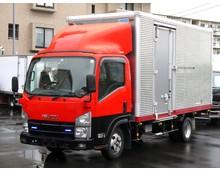 【高年式】 エルフ 標準ロング 内高206㎝ 左サイド扉 走行20.8万㎞ 2t積載 5MT 5t未満限定免許対応