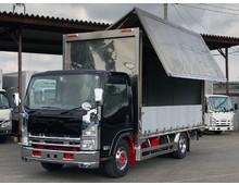 エルフ 造りボデーアルミウイング 積載3.65t 6MT メッキホイール メッキ・ステンパーツ多数
