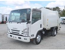 【高年式】 エルフ 極東製プレス式パッカー 6.9立米 2.9t積載 ディーゼル燃料