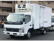 キャンター 冷凍バン 左サイド扉 格納パワーゲート ワイドロング 5MT 積載2.8t 車検R1年12月迄