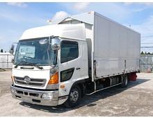 レンジャー アルミウイング 6200ワイド リアエアサス 積載2.7t 6MT 車検R2年2月迄 240馬力