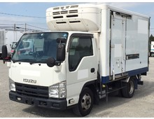 【高年式】 エルフ 冷凍バン 左サイド扉 低温 標準ショート 積載2t