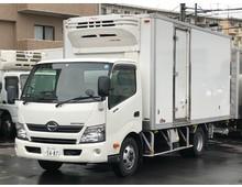 デュトロ 冷凍バン 左サイド扉 ワイドロング 格納パワーゲート付 6MT 積載2.8t 車検R2年4月迄