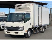 【高年式】デュトロ 冷凍バン 左サイド扉 格納パワーゲート付 積載2.95t 6MT ワイドロング