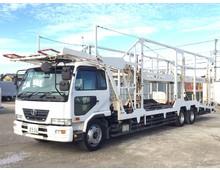 コンドル 増㌧ 車輛運搬車 積載8.9t 5台積 6MT 2デフ 尾張車体