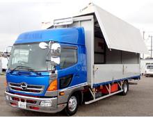【高年式】 レンジャー ハイルーフ 6200ワイド リアエアサス 240高馬力 2.45t積載 6MT 車検付5月迄