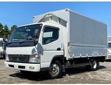 三菱キャンター ワイドロング アルミウィング 積載2000㌔ マニュアル5速