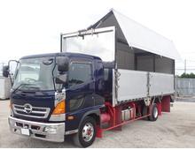 【造りボデー】 レンジャー アルミウイング L6200メーターアオリ メッキ・ステンレス部品多数 リアエアサス 積載2150kg 6速MT