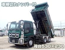 いすゞ ダンプ車 大型 H26年 QKG-CXZ77AT