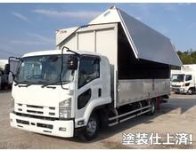 いすゞ ウイング車 4トン H27年 TKG-FRR90S2