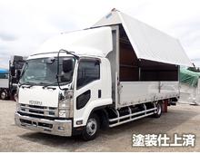 いすゞ ウイング車 4トン H26年 TKG-FRR90T2