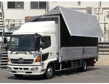 日野 ウイング車 4トン H28年 TKG-FD9JLAA