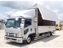 いすゞ ウイング車 4トン H25年 TKG-FRR90T2