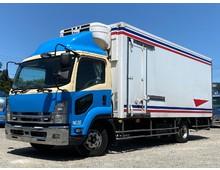 4tワイド幅 冷凍車 東プレ 2エバ 中温設定 -5℃確認済み システムフロア 62ボデー エアサス H24年 いすゞ