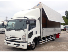 いすゞ ウイング車 4トン H29年 TKG-FRR90T2