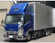 【イケ車】いすゞエルフ スズバン メッキ・ステンパーツ多数 H21年 標準ロング スムーサー 走行26万㎞ 積載3000kg
